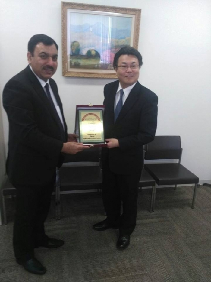 Dean Working Visit to Japan to Develop MoU