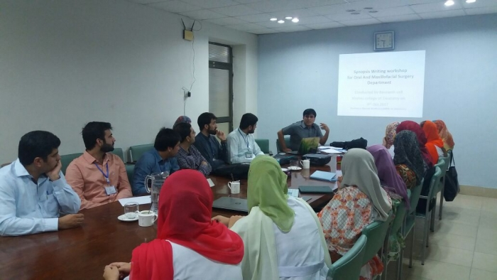 Participants of the Research Workshop with attention to Assoc. Prof. Dr. Sultan Zeb